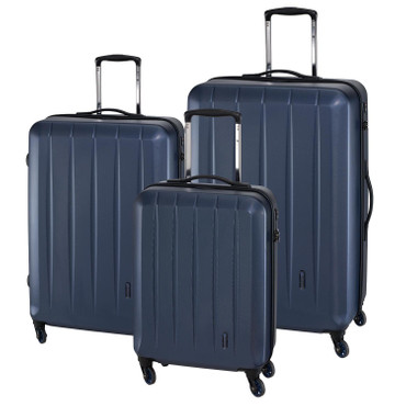 "CHECK.IN - 3er Trolley Set ""CORK"" Blau – Bild 1"