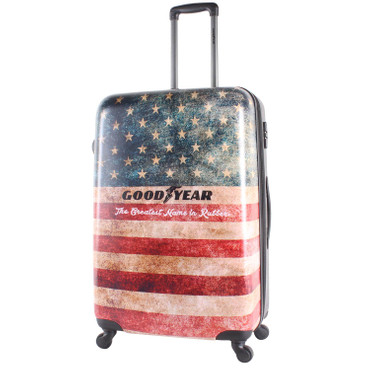 GOODYEAR - Authentic -M+L- 2er Set Motiv Hartschalen Trolley – Bild 2
