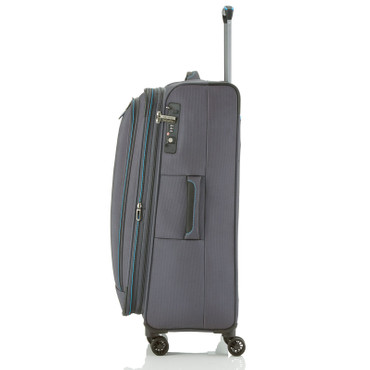 Travelite CROSSLITE Anthrazit 77cm Stoff Trolley – Bild 4