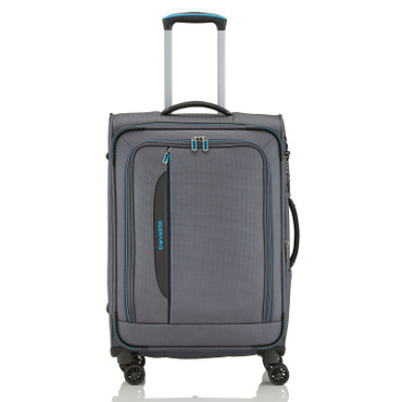 Travelite CROSSLITE Anthrazit 67cm Stoff Trolley – Bild 4