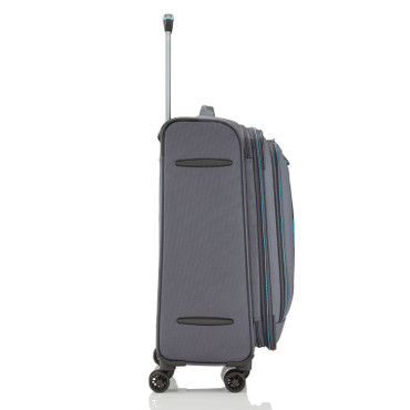Travelite CROSSLITE Anthrazit 67cm Stoff Trolley – Bild 6