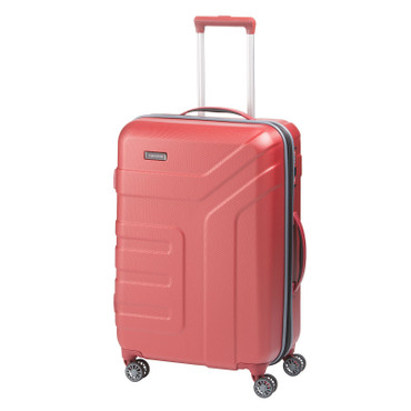 Travelite VECTOR Koralle 70cm Hartschalen-Trolley