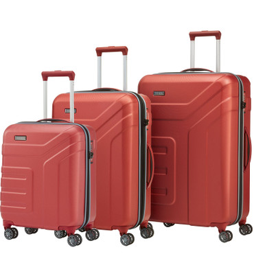 Travelite VECTOR Koralle 3 tlg. Trolley Set – Bild 1
