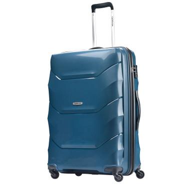 CARRYon PORTER 2.0 Blau 76cm Hartschalen Trolley – Bild 1