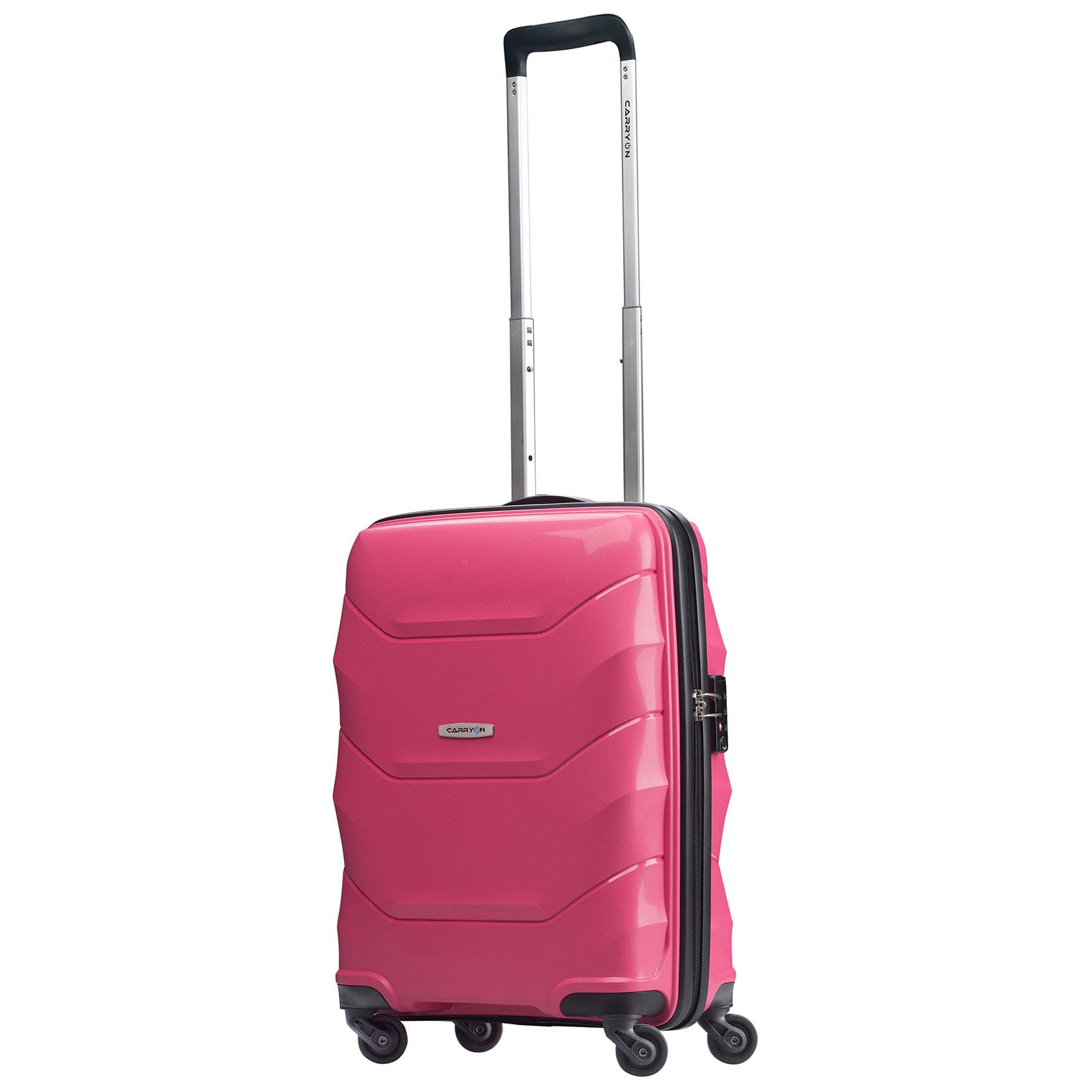 carryon porter 2 0 rosa 55cm handgep ck trolley koffer. Black Bedroom Furniture Sets. Home Design Ideas
