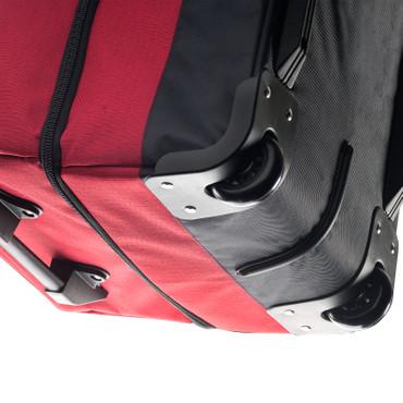 CARRYon DAILY XL Doppel Rollenreisetasche Schwarz TSA – Bild 2