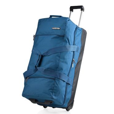 CARRYon DAILY XL Doppel Rollenreisetasche Blau TSA – Bild 1