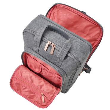 BARBARA backpack, grey – Bild 3