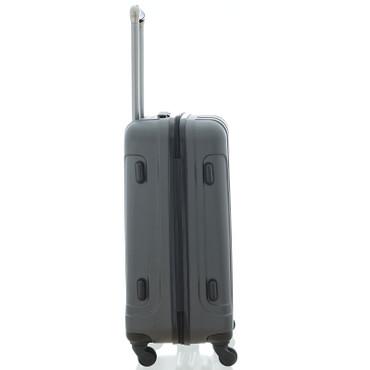 Saxoline Matrix ABS Trolley Größe M Grau Anthracite – Bild 5