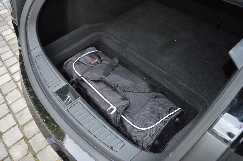 CAR-BAGS Reisetasche Tesla Model S 2012-heute Kofferraum Rollentasche