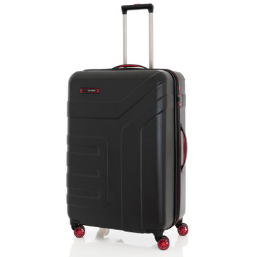 Travelite VECTOR Schwarz 3 tlg. 4w Trolley Set – Bild 2