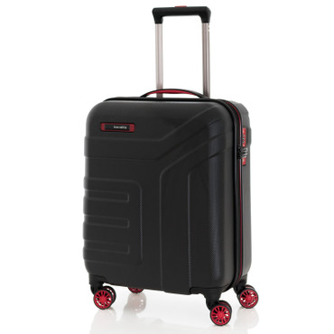 Travelite VECTOR Schwarz 3 tlg. 4w Trolley Set – Bild 3