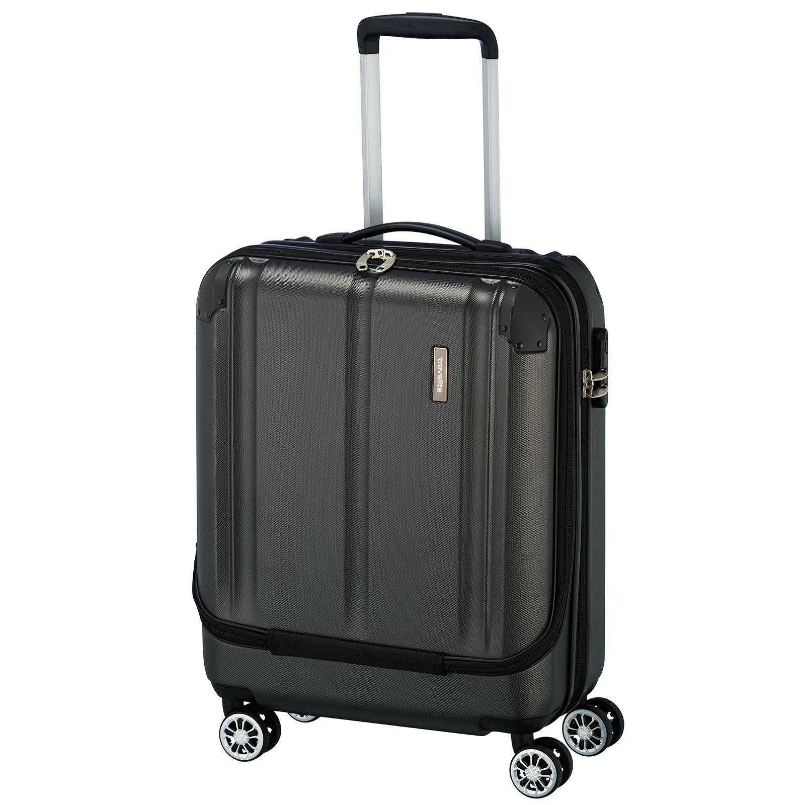 travelite-city-4w-trolley-s-vortasche-anthrazit