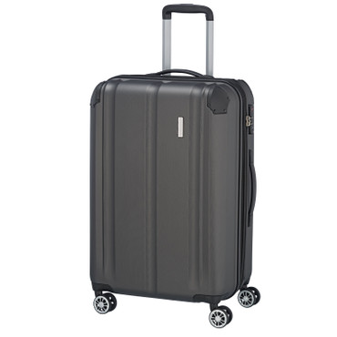 travelite CITY 4w Anthrazit 68cm Trolley  – Bild 1