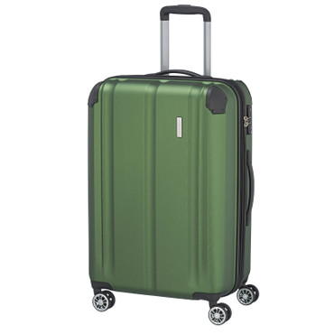 travelite CITY 4w Grün 68cm Trolley – Bild 1