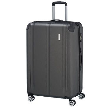 travelite CITY 4w Anthrazit 77cm Trolley  – Bild 1