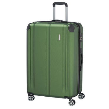 travelite CITY 4w Grün 77cm Trolley  – Bild 1