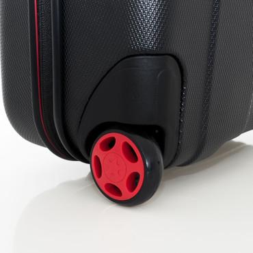 Travelite VECTOR Schwarz 2W Handgepäck Hartschalen Trolley – Bild 9