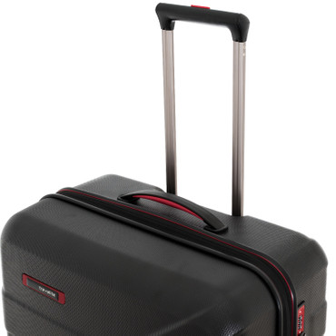 Travelite VECTOR Scwarz 3 tlg. 2w + 4w Trolley Set – Bild 11