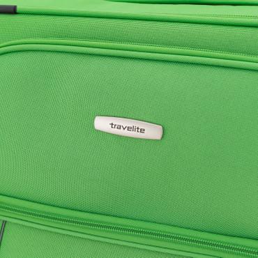 Travelite PORTOFINO Grün 62cm Stoff Trolley – Bild 10