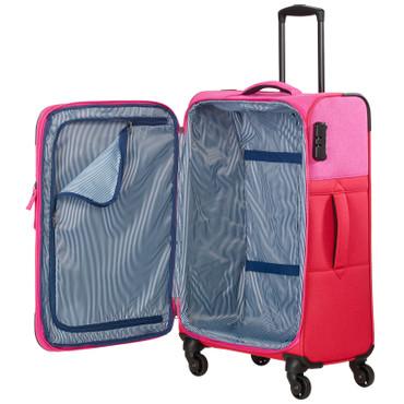 travelite NEOPAK 3 tlg. Trolley-Set Rot/Pink – Bild 4