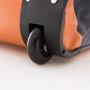 Leonardo - Reisetasche Sporttasche & Trolley im 2er Set blau – Bild 12