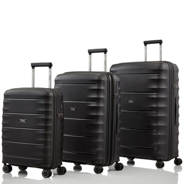 TITAN HIGHLIGHT Schwarz 3 tlg. Trolley Set – Bild 1