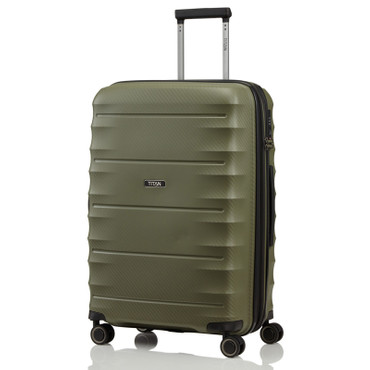 TITAN HIGHLIGHT Khaki 67cm Trolley – Bild 1
