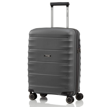 TITAN HIGHLIGHT Anthrazit 55cm Handgepäck Trolley – Bild 1