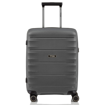 TITAN HIGHLIGHT Anthrazit 55cm Handgepäck Trolley – Bild 2