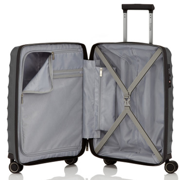 TITAN HIGHLIGHT Anthrazit 55cm Handgepäck Trolley – Bild 3