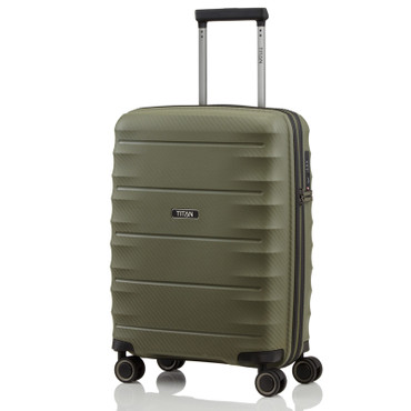 TITAN HIGHLIGHT Khaki 55cm Handgepäck Trolley – Bild 1