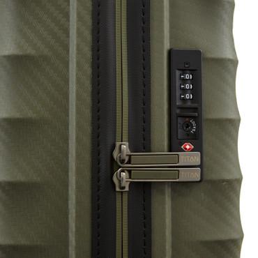 TITAN HIGHLIGHT Khaki 55cm Handgepäck Trolley – Bild 7
