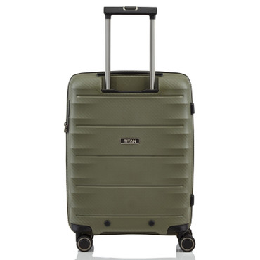 TITAN HIGHLIGHT Khaki 55cm Handgepäck Trolley – Bild 4