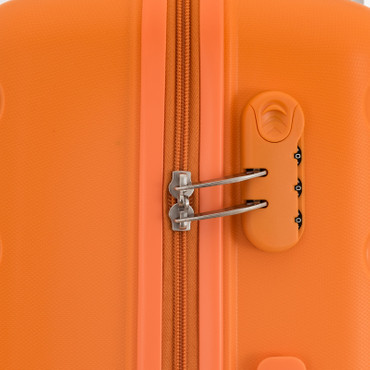 travelite NOVA Orange 55cm Handgepäck Trolley – Bild 6