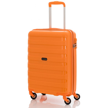 travelite NOVA Orange 55cm Handgepäck Trolley – Bild 1