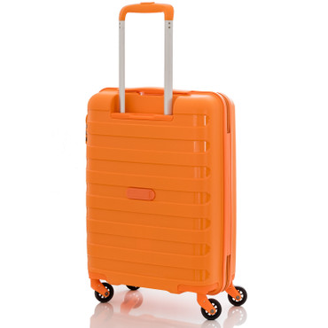 travelite NOVA Orange 55cm Handgepäck Trolley – Bild 2