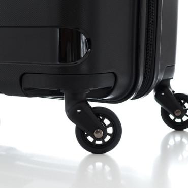 travelite NOVA Schwarz 66cm Trolley – Bild 12
