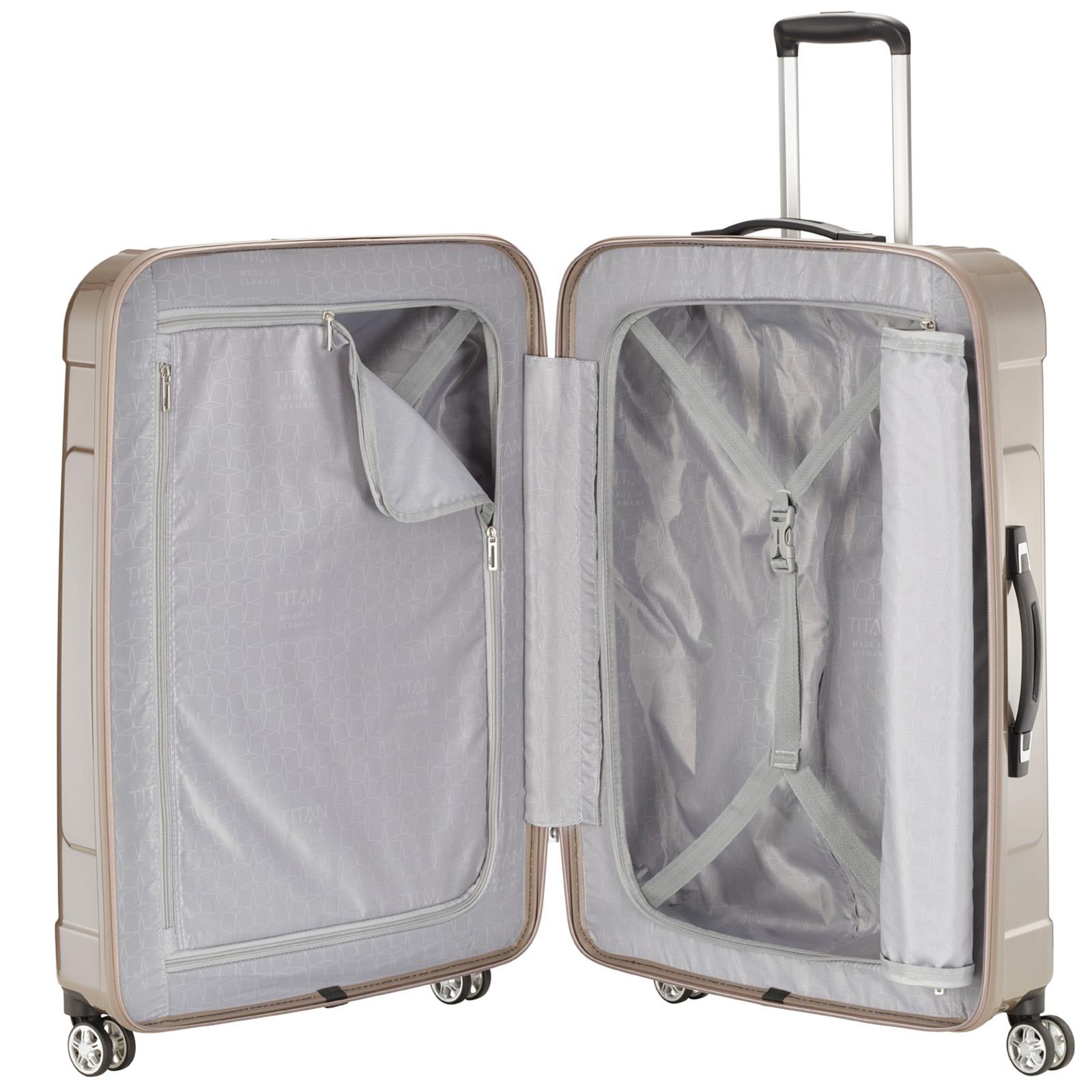 Büro & Schreibwaren Reisekoffer & -taschen Titan X-ray 4 Rad Trolley L 77 Cm Auswahlmaterialien