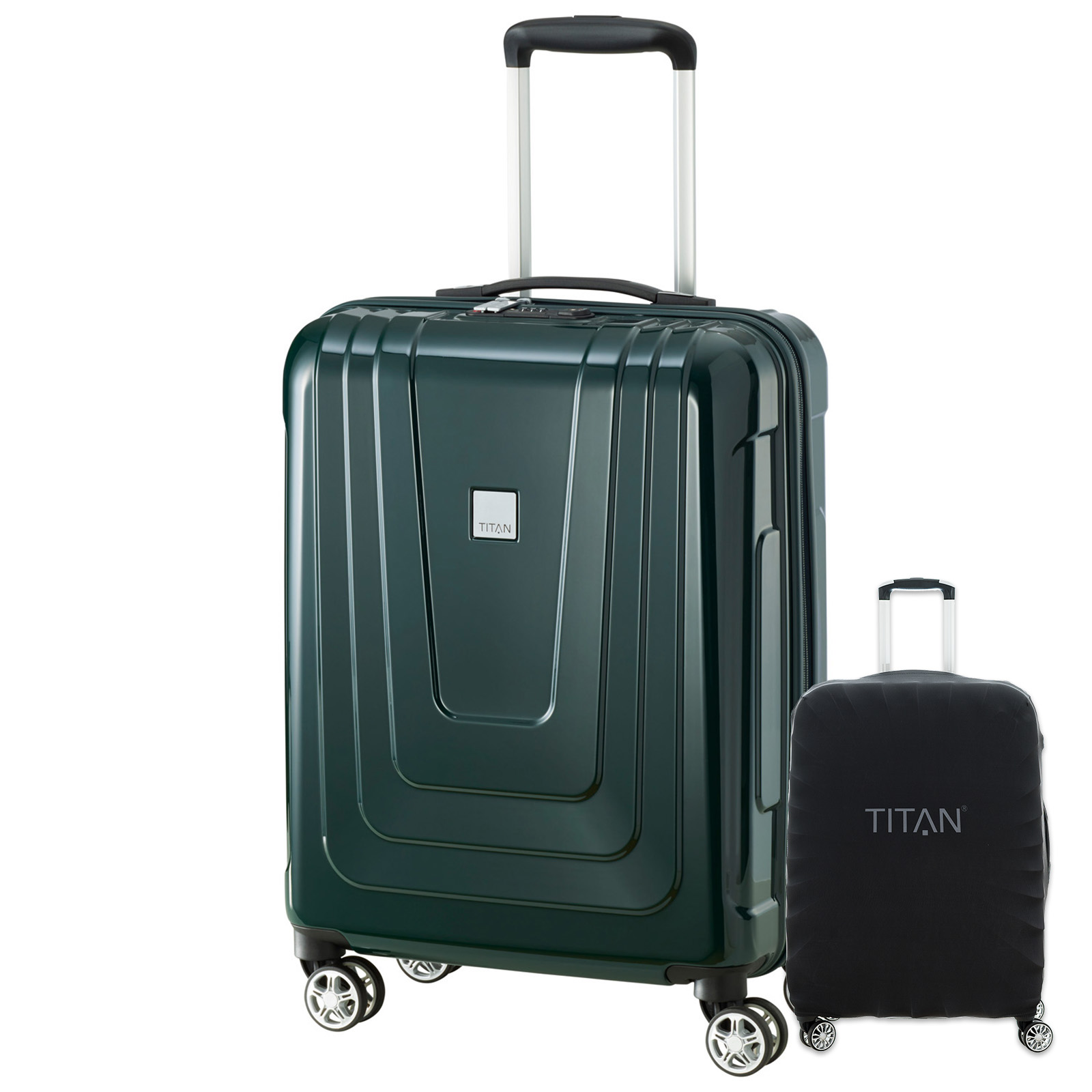 titan-x-ray-55cm-hartschalen-trolley-racing-green-inkl-kofferschutz