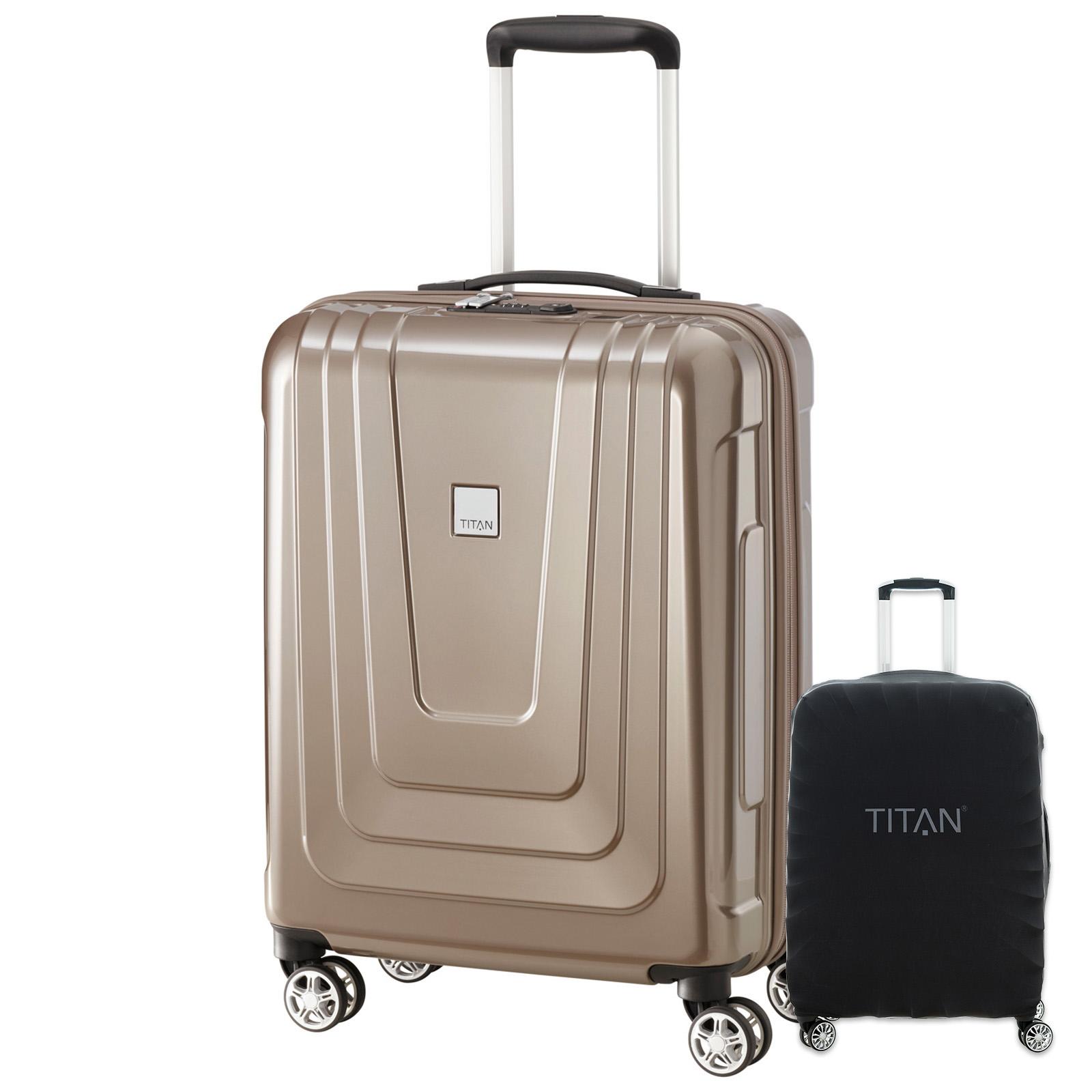 titan-x-ray-55cm-hartschalen-trolley-cafe-au-lait-inkl-kofferschutz