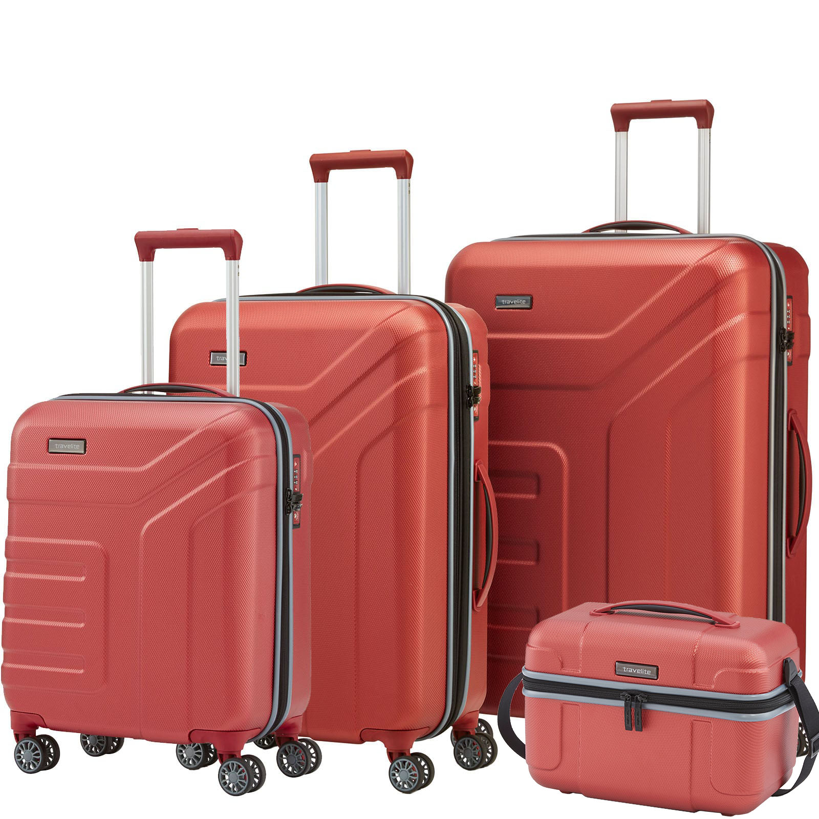 travelite-vector-4w-koralle-4-tlg-trolley-set