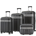 TITAN SPOTLIGHT FLASH Trolley 4er Set Anthracite
