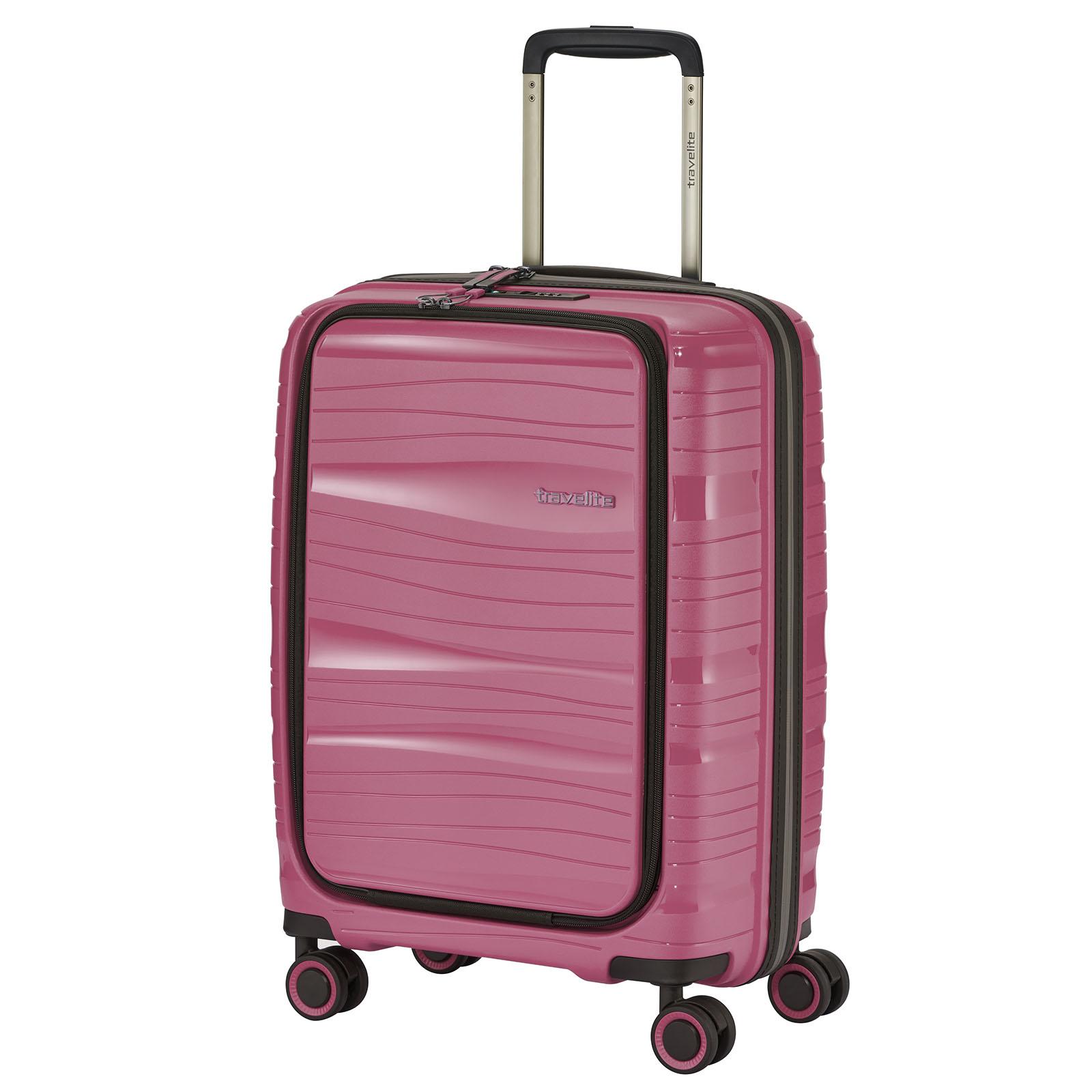 travelite-motion-55cm-trolley-vortasche-bonbon