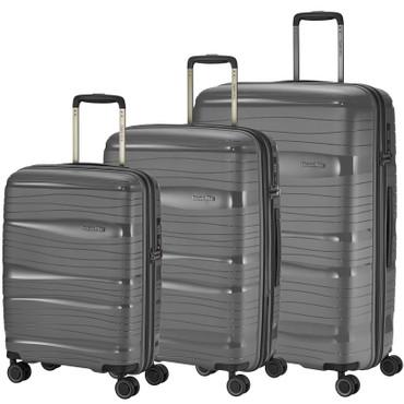 Travelite Motion 3 tlg. Trolley Set Anthrazit – Bild 1
