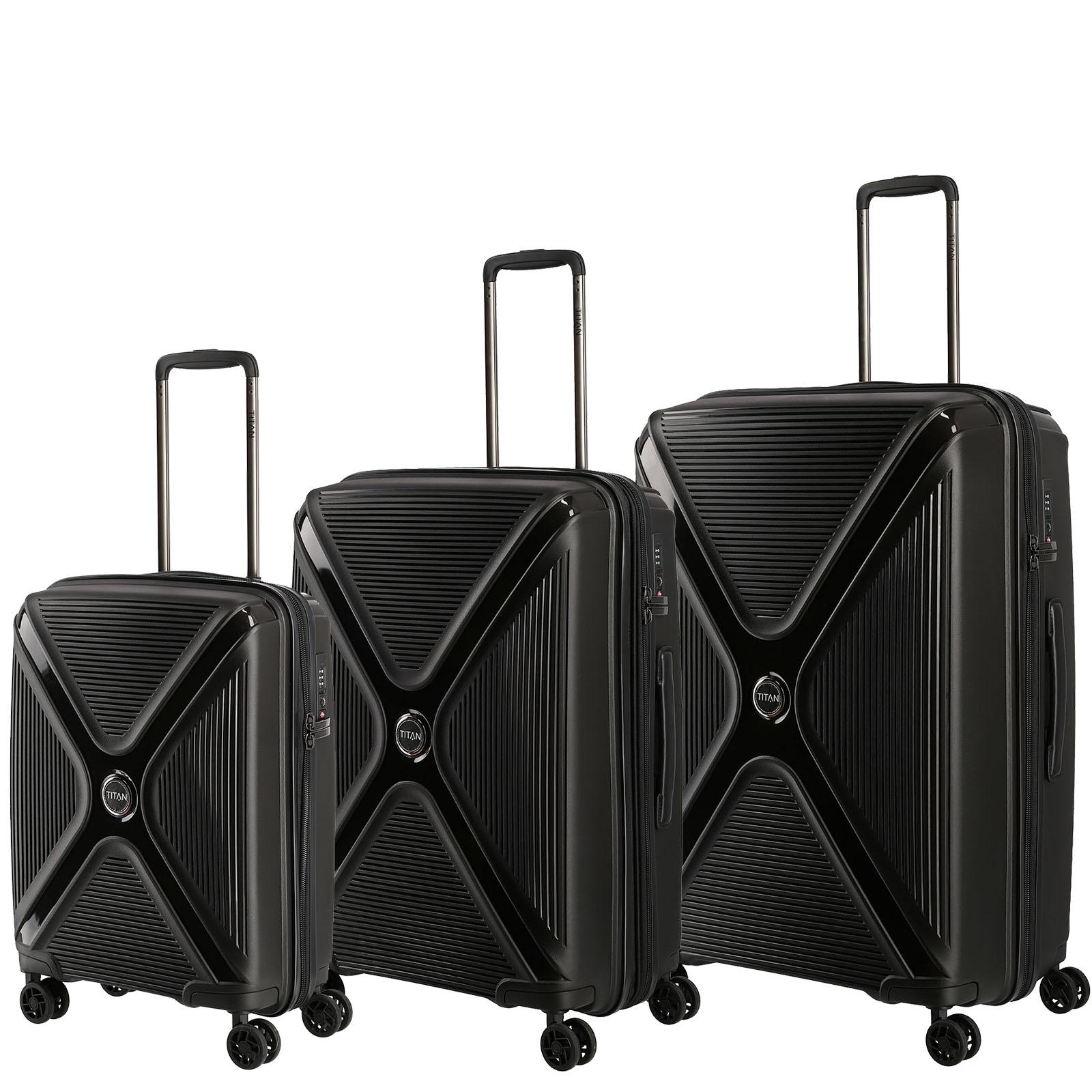 titan-paradoxx-black-uni-3er-kofferset, 314.87 EUR @ kofferkult