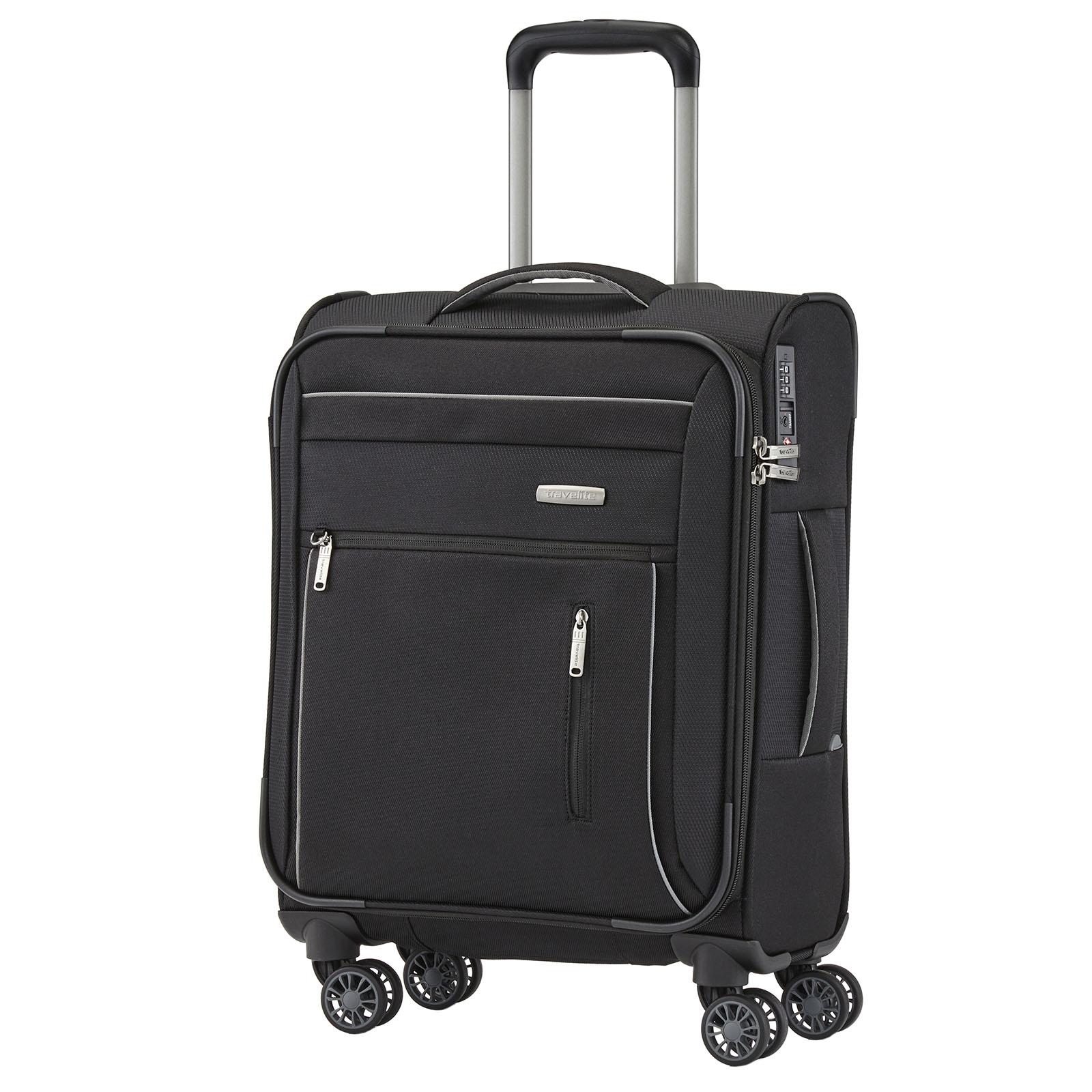travelite-capri-schwarz-55cm-handgepack-stoff-trolley