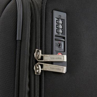 Travelite CAPRI Schwarz 66cm Stoff Trolley – Bild 8