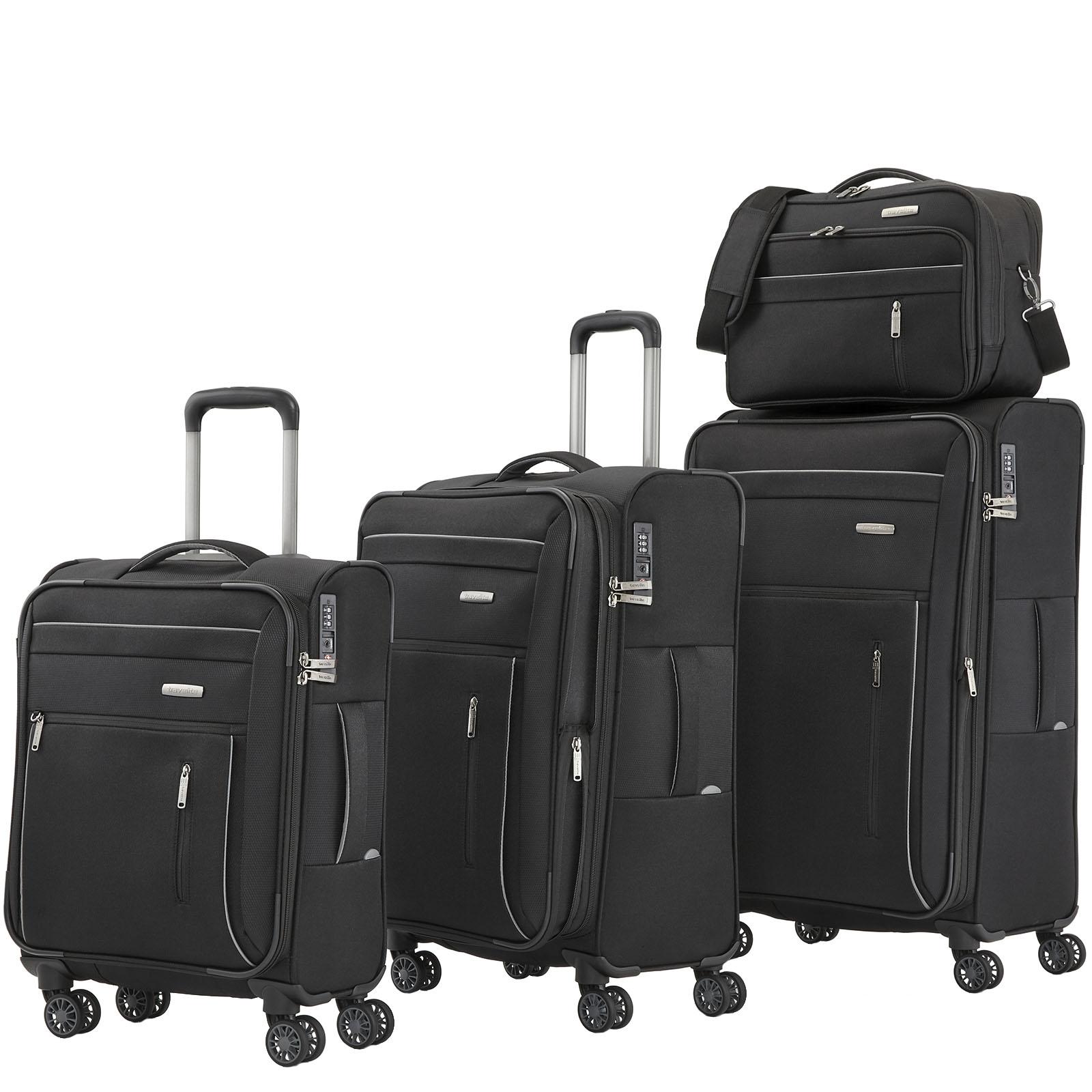 travelite-capri-schwarz-4-tlg-trolley-set