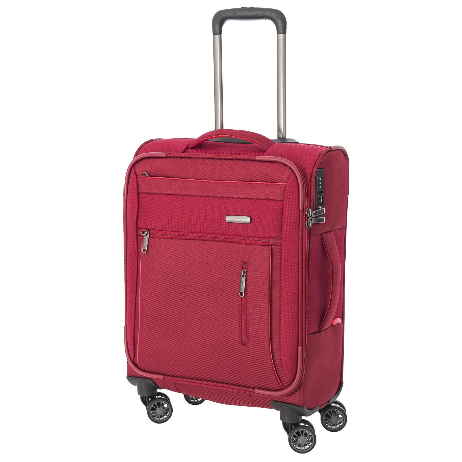 travelite-capri-rot-55cm-handgepack-stoff-trolley